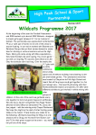 High Peak SSP - Newsletter Summer 2017