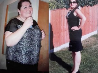 Sarah loses eight stone jogging and targets marathon