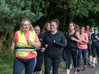 How jog leader Gaynor lost five stone