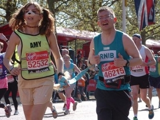 Tom and Amy's incredible jogging journey