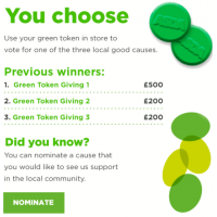 Asda - Green Token Giving