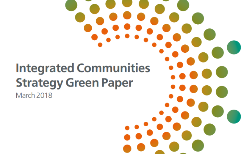 Potential funding opportunity detailed in the Integrated Communities Strategy Green Paper