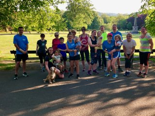 Rachel overcomes childcare barriers with jog group