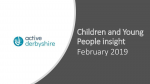 Active Lives Children and Young People Derbyshire data Dec 18