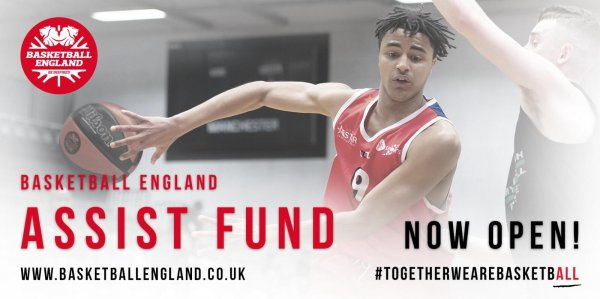 Basketball England's Assist Fund to Help the Next Generation – deadline 4th March