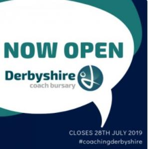 Derbyshire Coach Bursary Fund - Now Open