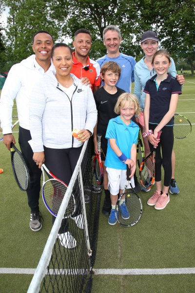 Tennis Mad Family Get Surprise Session With Wimbledon Semi-finalist