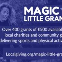 Small Grants for Projects that Encourage People to be Physically Active
