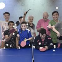Ping pong tables on offer for community groups