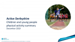NEW Active Lives Children and Young People Derbyshire 18 19 Dec 19