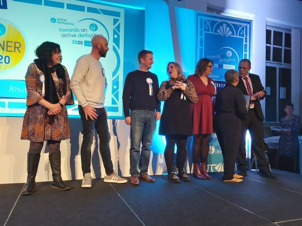 Derbyshire organisations and individuals celebrated at the second Towards an active Derbyshire awards