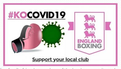 England Boxing-affiliated clubs are appealing for YOUR support