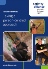 Activity Alliance releases new person centred approach resource