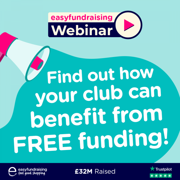 Find out how your club / group could benefit from Easyfundraising