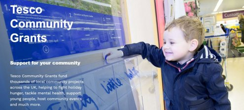 Meet the Funders Event - Tesco Community Grants