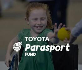 The Toyota Parasport Fund has now launched!