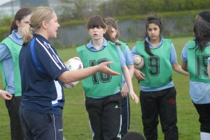 Women's Rugby coaching