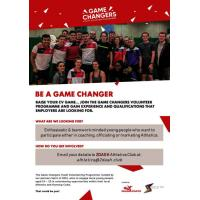 Athletics clubs (coaching, officials, marketing roles)
